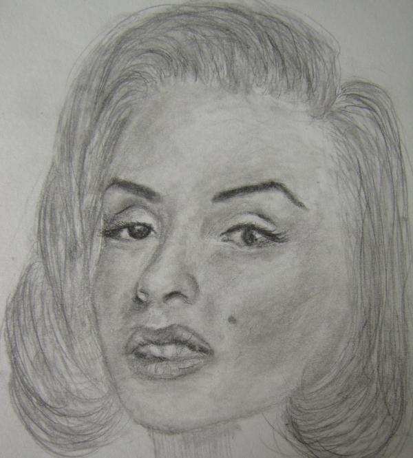 Marilyn Monroe by CinderFall